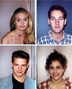 Behind the scenes polaroids from Clueless. Clueless Quotes, Clueless 1995, Clueless Outfits, Clueless Elton, Paul Rudd Clueless, Brittany Murphy, Clueless Aesthetic, Retro Aesthetic, Series Movies