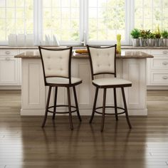 AMISCO - Paula Stool (41450) - Furniture - Kitchen - Countryside collection - Traditional - Swivel stool