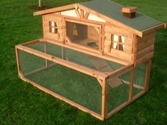 indoor rabbit guinea pig hutch | Penthouse Rabbit & Guinea Pig Hutch and Run from Taylor Garden ...