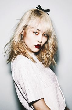 We Need The Eggs Queer Fashion, Korea Fashion, Rinko Kikuchi, Girl Korea, Zoe Kravitz, Just Style, Elle Magazine, Woman Crush, Make Up