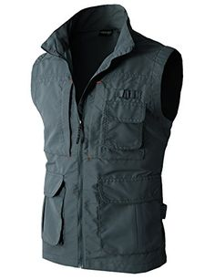 H2H Mens Work Utility Hunting Travels Sports Vest With Multiple Pockets CHARCOAL US L/Asia XL (KMOV081) H2H http://www.amazon.com/dp/B00VSXV9BC/ref=cm_sw_r_pi_dp_QBk2wb10NWWJ9