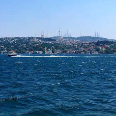 #Istanbul #Bosphorus #Jummah Istanbul, Cities, Public, River, World, Places, Pictures, Instagram Posts, Outdoor