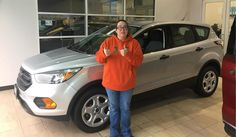 Janet, congratulations on your new vehicle!  Welcome to the  Landmark Ford Family!