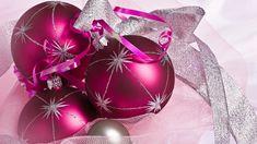 Boże Narodzenie, Dekoracja, Świąteczna, Bombki, Wstążki