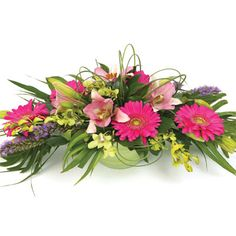 Unique Flower Arrangements | Delightful Bowl Flower Arrangement | Florist Sydney Melbourne Brisbane ...