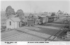 level crossing just after leaving Upper Ferntree Gully