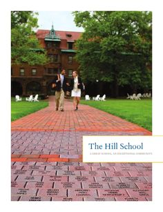 The Hill School's admission view book