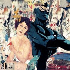 Original Celebrity Collage by Marco Innocenti Canvas Paper, Canvas Art, Printmaking, Pop Art, Saatchi Art, Collage, Shapes, Painting, Fictional Characters