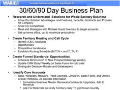 successful business plan example