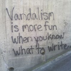 Funny pictures about Writer's Block. Oh, and cool pics about Writer's Block. Also, Writer's Block photos. Graffiti Quotes, Graffiti Artists, Quote Aesthetic, Best Funny Pictures, Funny Pics, Hilarious Quotes, Thoughts, Writing, Instagram