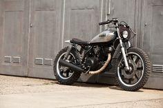 "motographite: YAMAHA SR 250 '82 ""HOOKIE #3"" by THE HOOKIE"