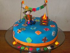 bolo de aniversario com o tema festa junina - Pesquisa Google