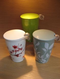 Tea Forte cups.  Available at Best of Friends Gift Shop in the lobby of Winnipeg's Millennium Library. 204-947-0110 info@friendswpl.ca Gifts For Friends, Pots, Tea, Tableware, Shop, Dinnerware, Dishes, Teas, Pottery
