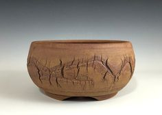"Iker Bonsai Pots - Rustic Unglazed Cracked Finish Bonsai Pot,  6 1/2"" 15209, $46.00 (http://www.ikerbonsaipots.com/rustic-unglazed-cracked-finish-bonsai-pot-6-1-2-15209/)"