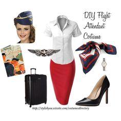 DIY Costume Ideas for Women - Flight Attendant