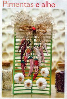 Αποτέλεσμα εικόνας για porta alho de croche