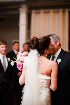 How stunning is this veil? http://www.stylemepretty.com/2014/05/16/texas-winter-glam-wedding/ | Photography: Jennefer Wilson - http://jenneferwilson.com/