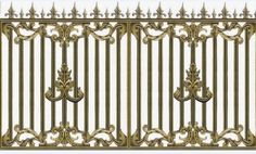Interior Stair Railing, Balcony Railing, Baroque, Gate Wall Design, Iron Gates, Boarders, Border Design, Cool Things To Buy, Vector Free