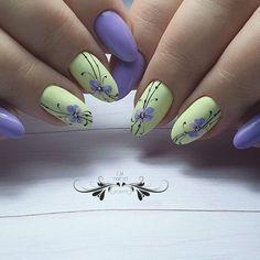 Bright Nail Art, Purple Nail Art, Pink Nails, Manicure Nail Designs, Nail Manicure, Nail Art Hacks, Nail Art Diy, Nail Art Designs Videos, Christmas Nail Art Designs