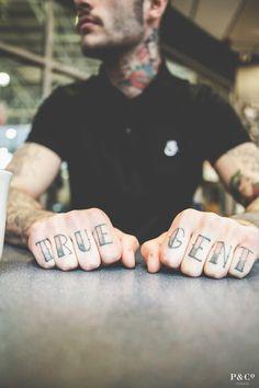 True Gent knuckle tattoos possibly in white ink? Knuckle Tattoos, Finger Tattoos, Hand Tattoos, Cool Tattoos, Arabic Tattoos, Gypsy Tattoos, Amazing Tattoos, Tatoos, Dragon Tattoo Back Piece