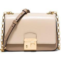 Michael Kors Collection Gia Small Chain-Strap Flap Bag