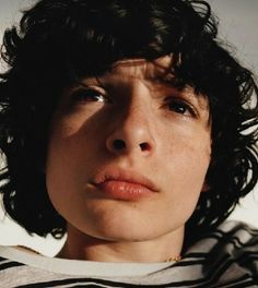 Finn Wolfhard and his magnificent hair