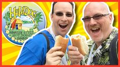 """Hula dog - Food Truck Review with Ian Keiner from """"Peep THIS Out!"""""""