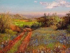 Texas, Our Texas by Ann Hardy Oil ~ 24 x 30 inches