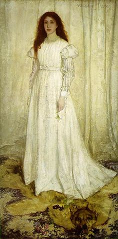 Whistler, James McNeill (1834-1903) - 1862 Symphony in White No. 1