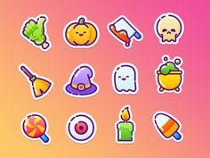 40 Halloween icons by Kavoon