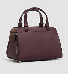 LEATHER MICRO DUFFLE BAG - SOFIE | Calvin Klein