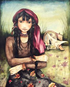 Claudia Tremblay, maya, woman, paintings, paint, pictures, visual, arts, melancholic, mother, child, Guatemala, gallery, culture