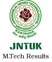 JNTUK M.Tech 1st Sem Results (R13, R09) Reg/Supply April 2015