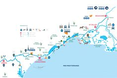 H2olidays : Different regions for boating vacations in France