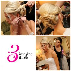 Mother of the Bride hair « Since she asks me every time she needs an up-do. Next time I'll be prepared! ;)