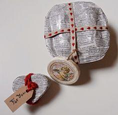 De todo un poco: packaging con periódico