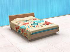 Linen Bedding, Bedding Sets, Bed Linen, Textured Walls, Outdoor Furniture, Outdoor Decor, Bed Sheets, Mockup, Your Design