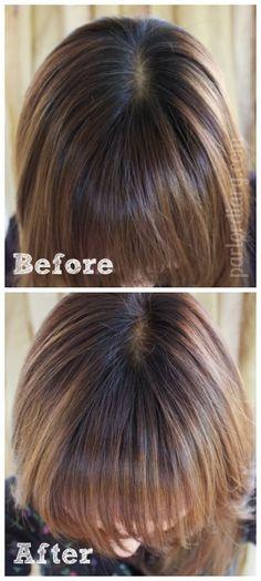 Inspirational Color Gloss for Hair