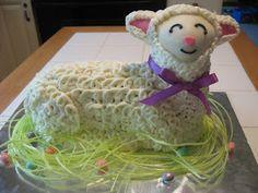 Cookies in the Cupboard: Easter Lamb Cake