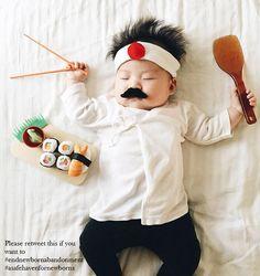 A Safe Haven for Newborns  Photo credits to Laura Izumikawa baby sushi chef  end newborn abandonment  happy halloween