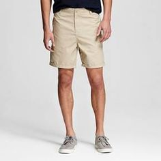 CHOR Men's Slim Fit Chino Shorts - Malibu Blue 34 : Target