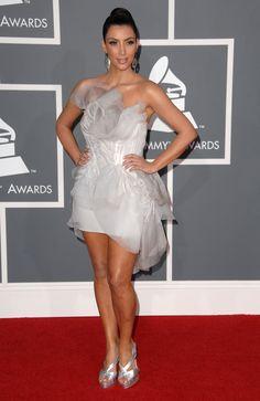 KIM KARDASHIAN WEST Grammys 2009