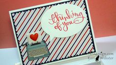 Thinking of You using supplies using July 2014 #Simonsaysstamp card kit by KWCardDesign