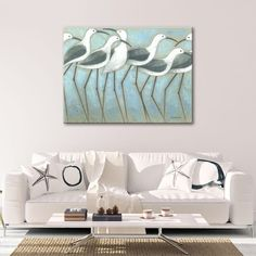Shop for Norman Wyatt Home Coastal Parade Gallery Wrapped Canvas Wall Art. Get free delivery On EVERYTHING* Overstock - Your Online Art Gallery Store! Get in rewards with Club O!