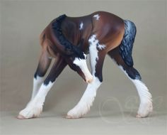 Breyer TR Gilen; customized and painted by Sue Kern