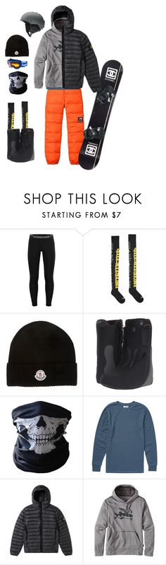 """Hit The Slopes"" by kevin-whitcanack on Polyvore featuring Icebreaker, The North Face, Chanel, Vetements, Moncler, Burton, BUFF, Billabong, STONE ISLAND and Patagonia"