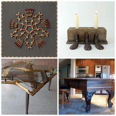 #recycled #piano parts | IF you HAD to take apart a piano....