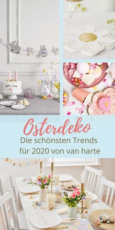 Hoppy Easter – Die schönsten Oster-Trends 2020 | van harte Blog - Osterdekoration Osterdeko Ideen einfach DIY gold zuhause fenster tischdekoration ostern österlich Oster-Deko Oster-Dekoration modern süß Kinder Muffins Ostern Backen Rezepte New Kitchen Doors, Kitchen Ornaments, Gold Diy, Hoppy Easter, Blog, Van, Modern, Table Decorations, Inspiration
