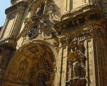 Basílica de Santa María (s. XVIII), en la Parte Vieja. Donostia-San Sebastián, Guipúzcoa.