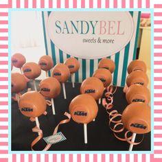 Logo Cake Pops by #sandybel #logodruck #ktm